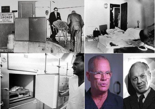 وجدوها جثة عارية على السرير، فغطوها ونقلوها الى طبيب شرعي، ثم الى براد المشرحة، وصورة للمصور وابنه
