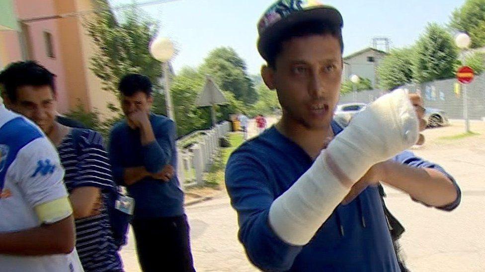 بعض المهاجرين إلى أوروبا عبر كرواتيا أعيدوا إلى البوسنة المجاورة