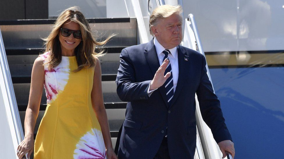 دونالد وميلانيا ترامب