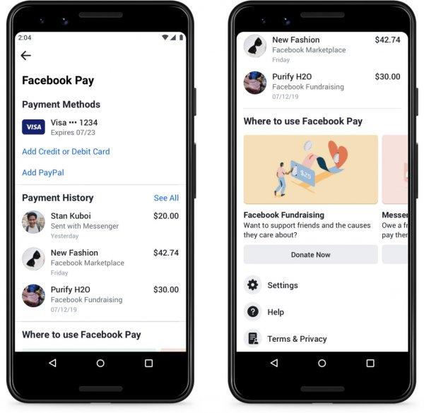 وأخيرًا! فيسبوك تعلن رسميًا عن إطلاق خدمة الدفع Facebook Pay