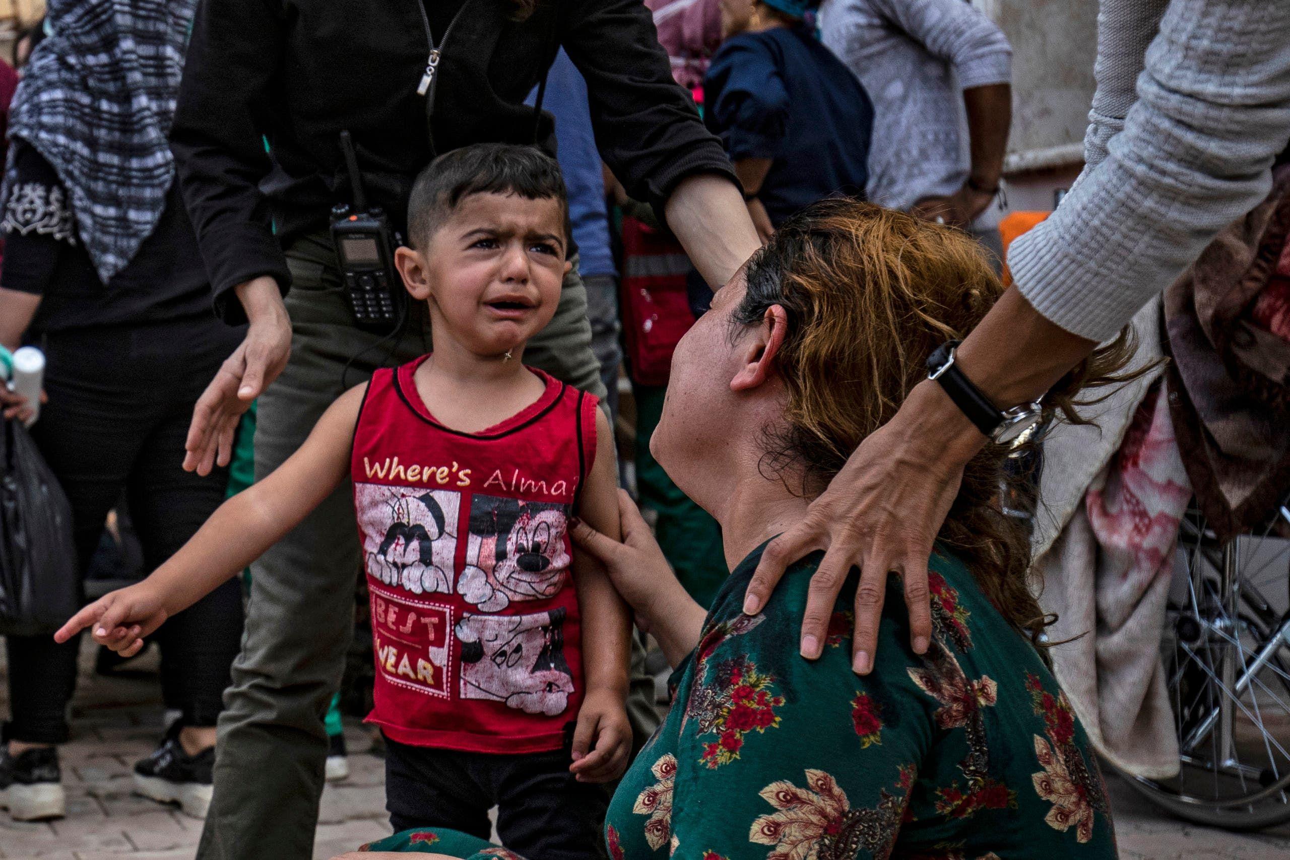 طفل من شمال سوريا