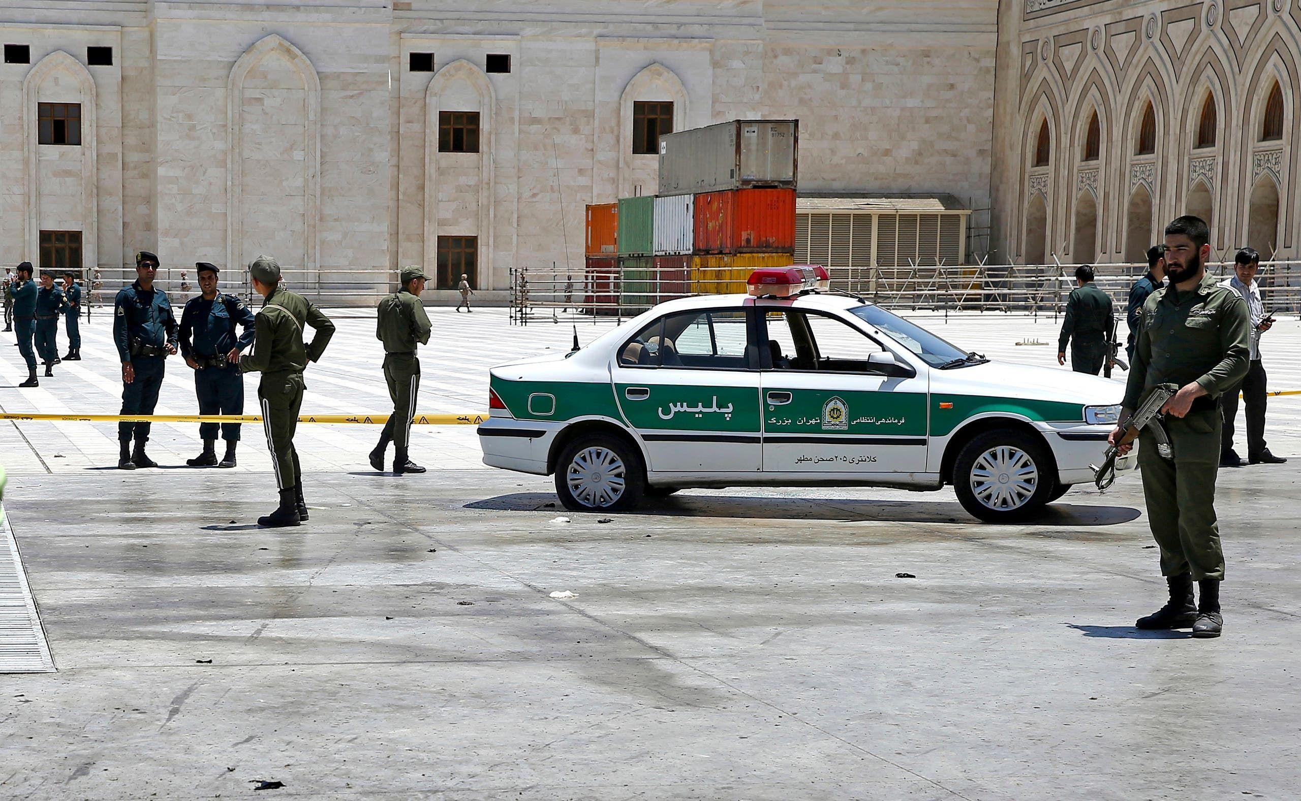 عناصر من الأمن الإيراني في طهران - أرشيفية