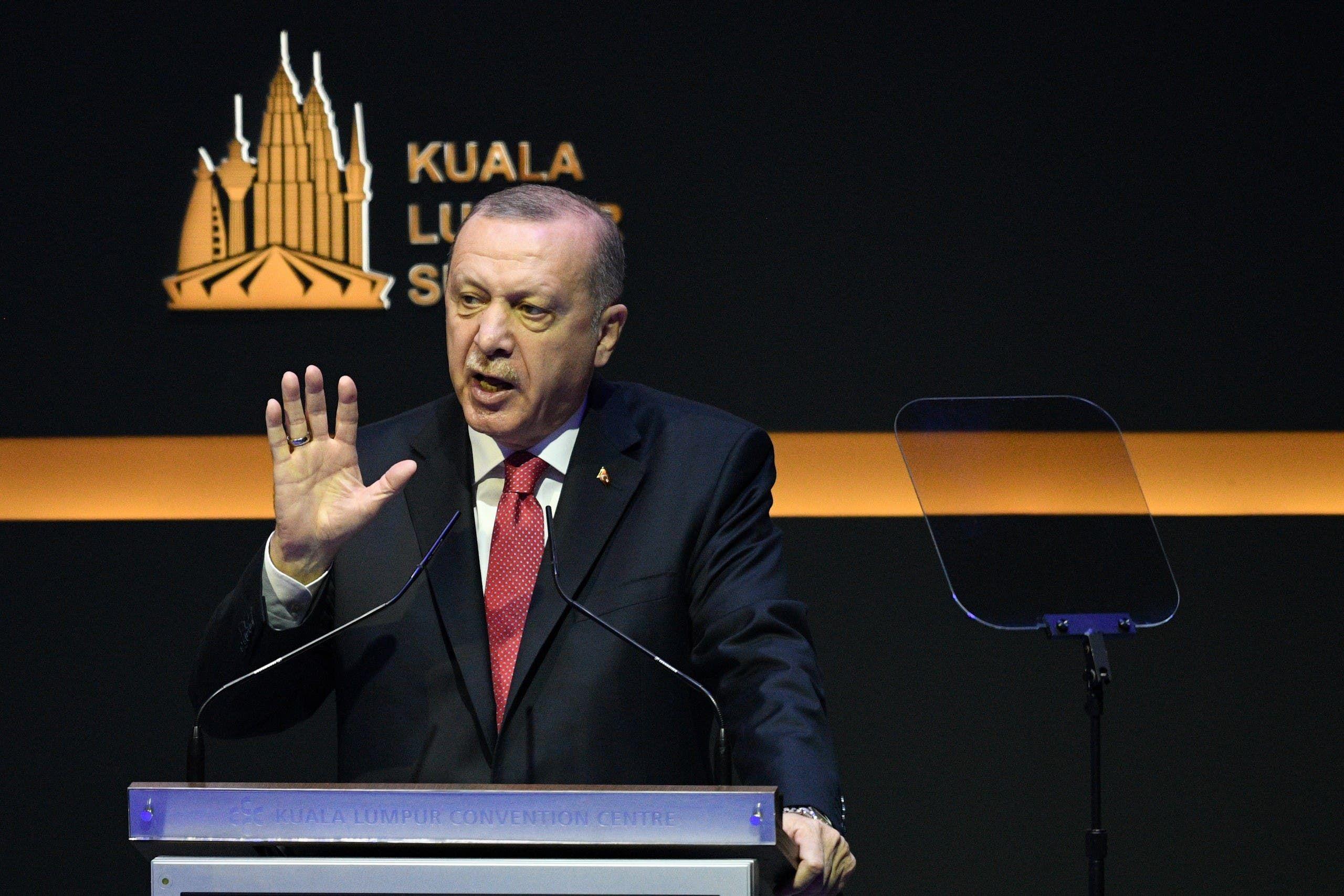 أردوغان (أرشيفية- فرانس برس)