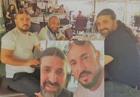 نوح زعيتر برفقة أحد أقارب الأسد