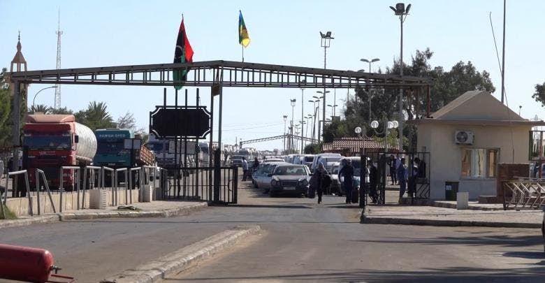 منفذ تونسي على حدود ليبيا