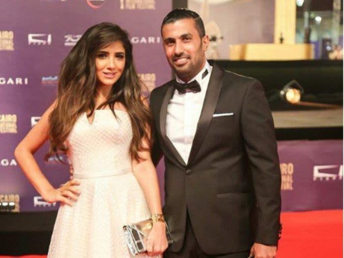 محمد سامي وزوجته الفنانة مي عمر