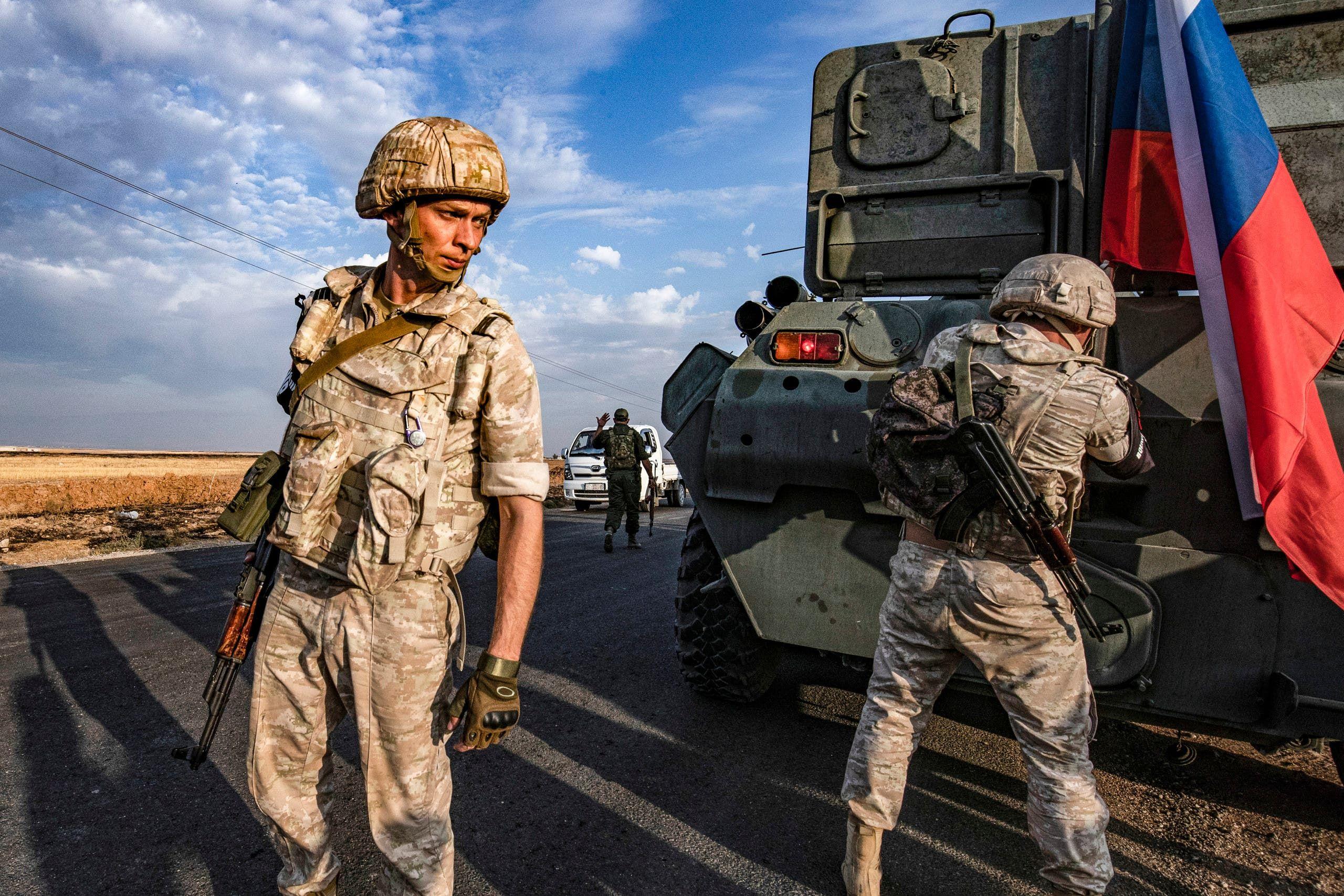 قوات شرطة عسكرية روسية في سوريا