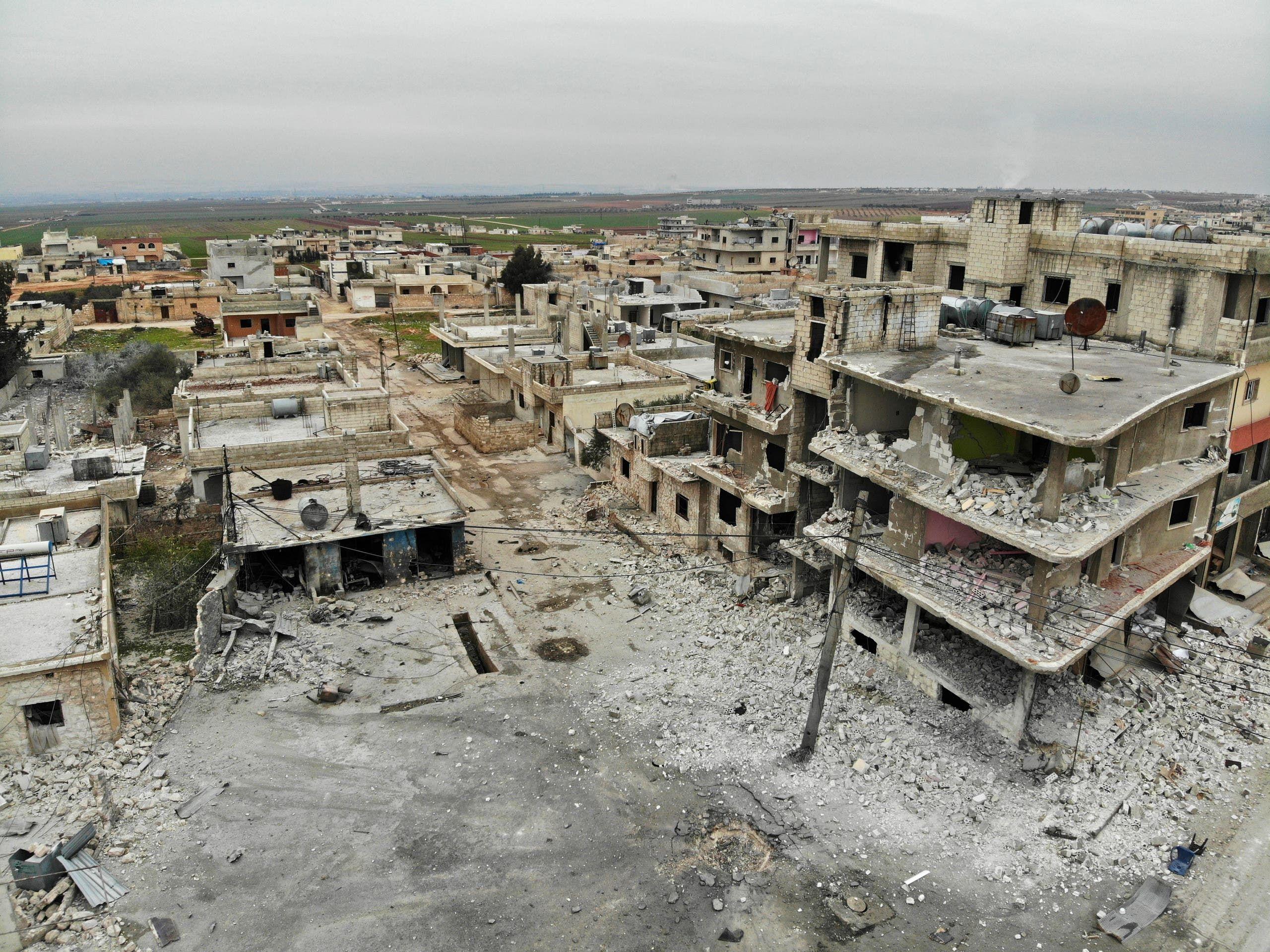 من ريف إدلب(12 فبراير- فرانس برس)