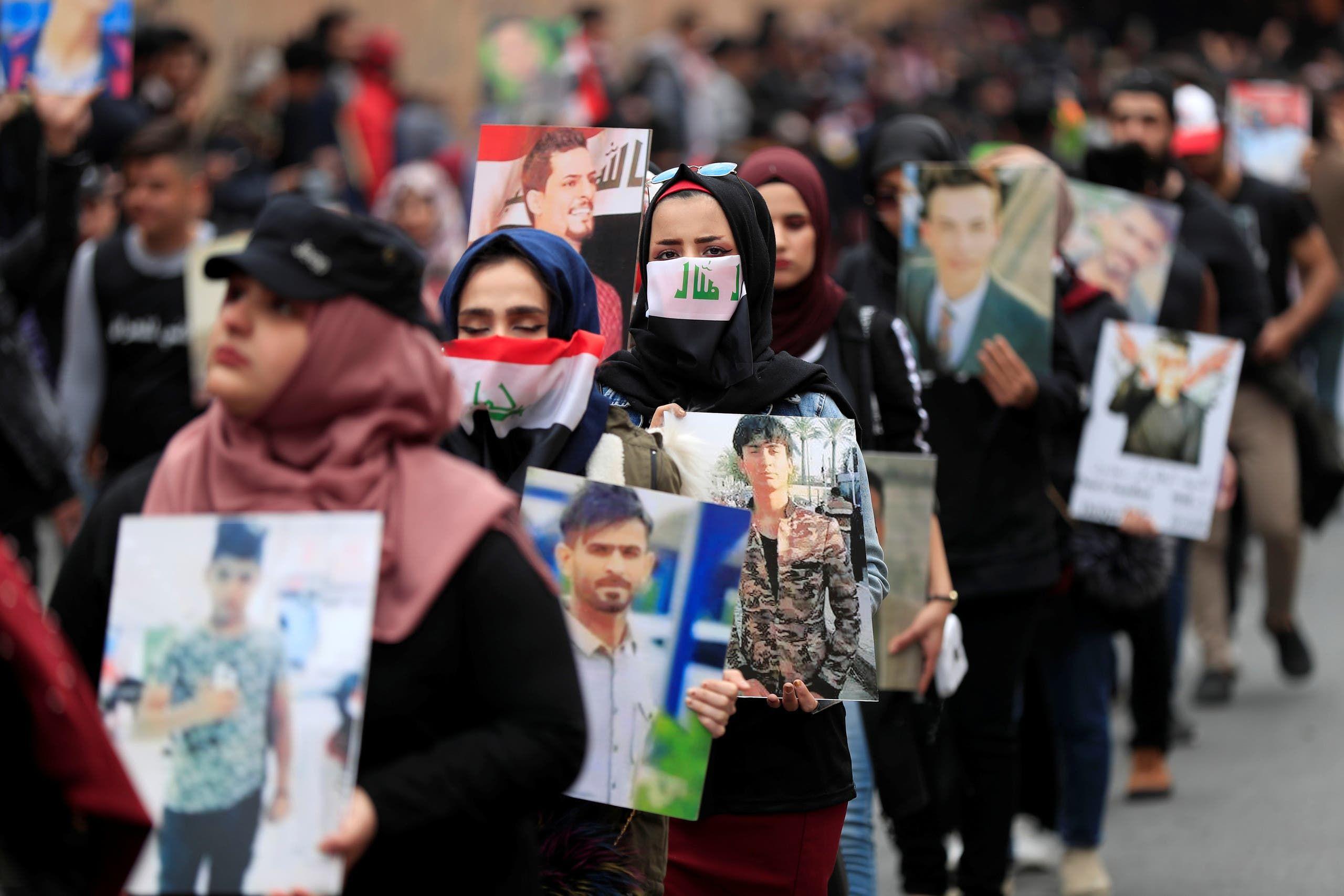 من بغداد (16 فبراير - رويترز)