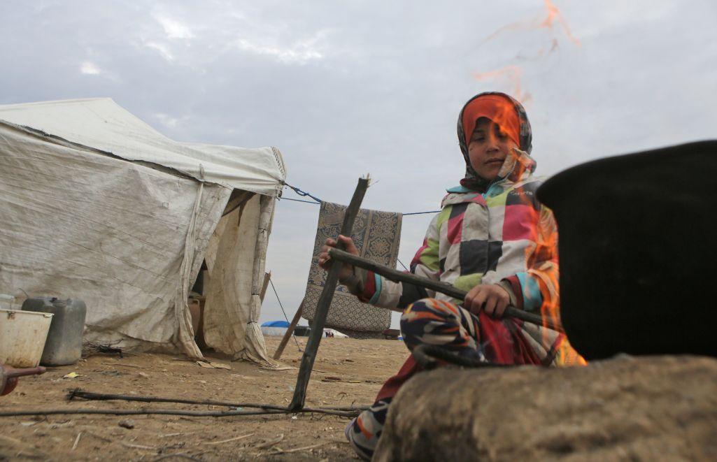 نازحون من حلب (فرانس برس)