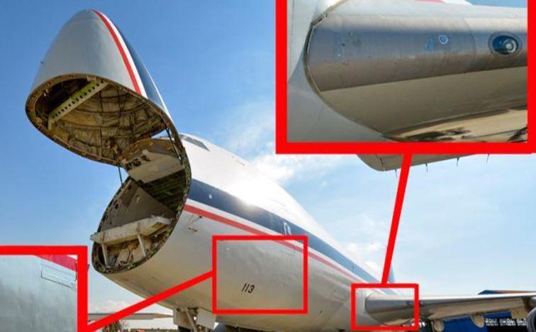 الطائرة 113 أو 8113-5، من طراز بوينغ 747-2جي9إف كانت تابعة لسلاح الجیش الإيراني