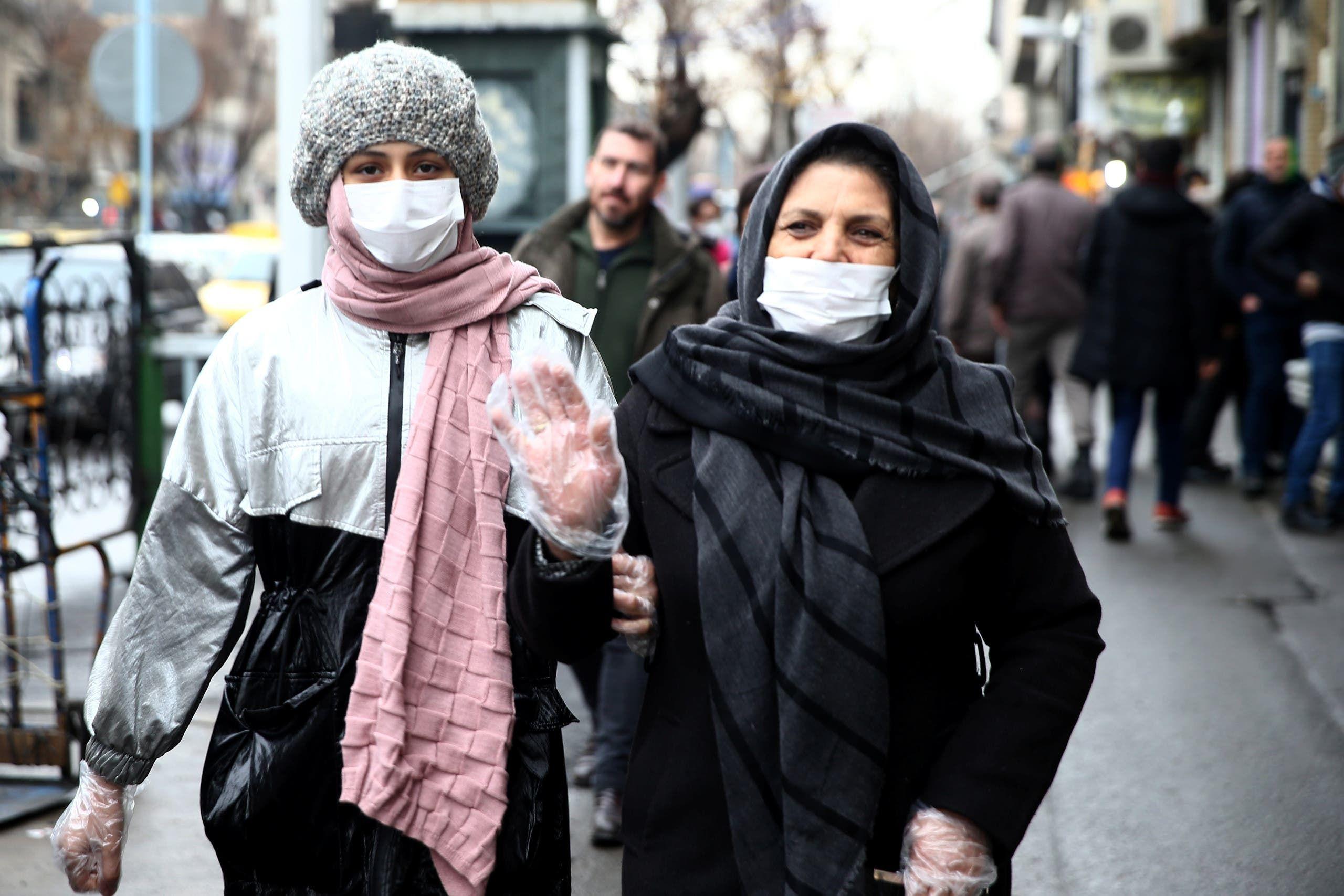 من أحد شوارع طهران