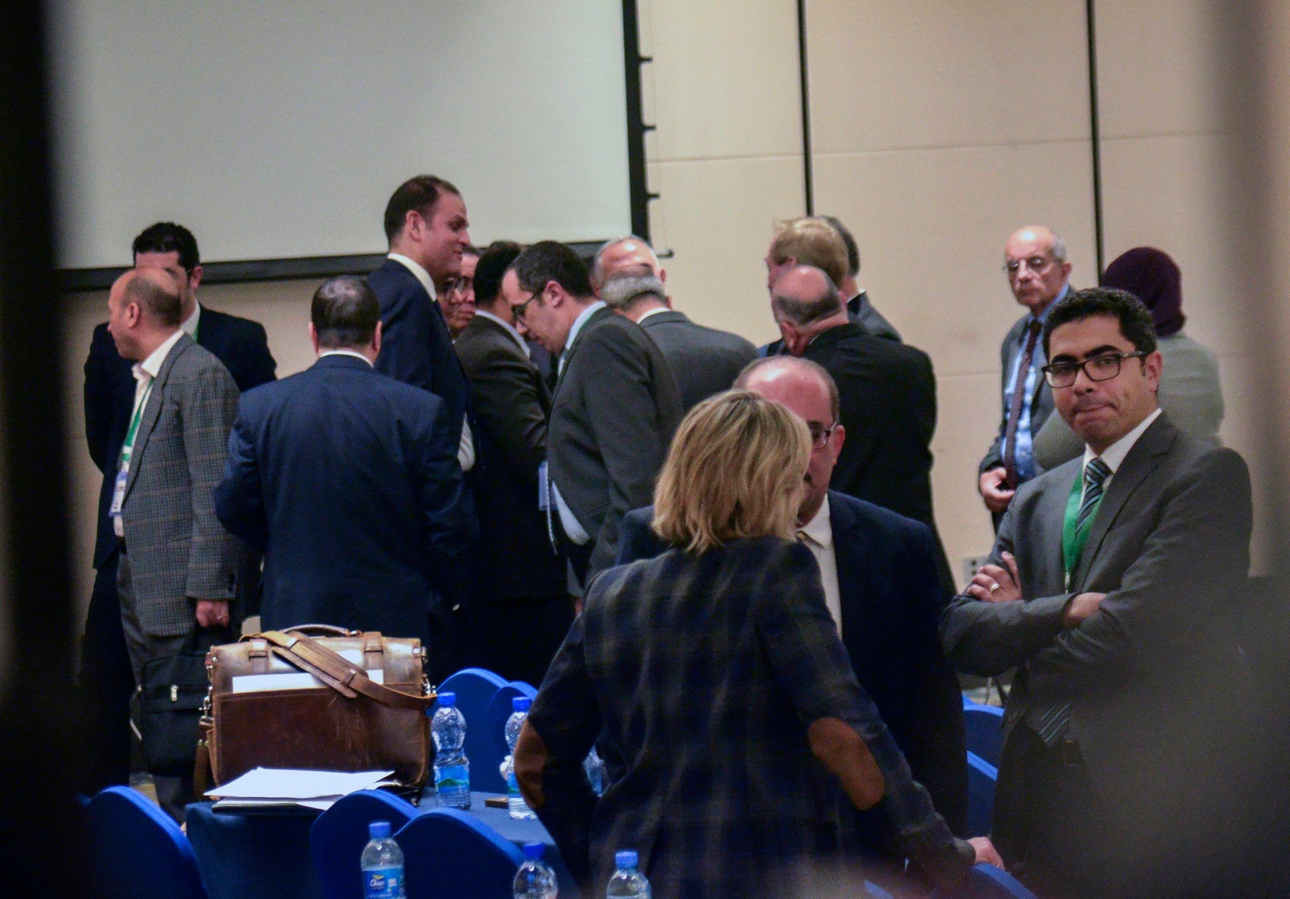 على هامش مباحثات واشنطن بين مصر وأثيوبيا حول سد النهضة
