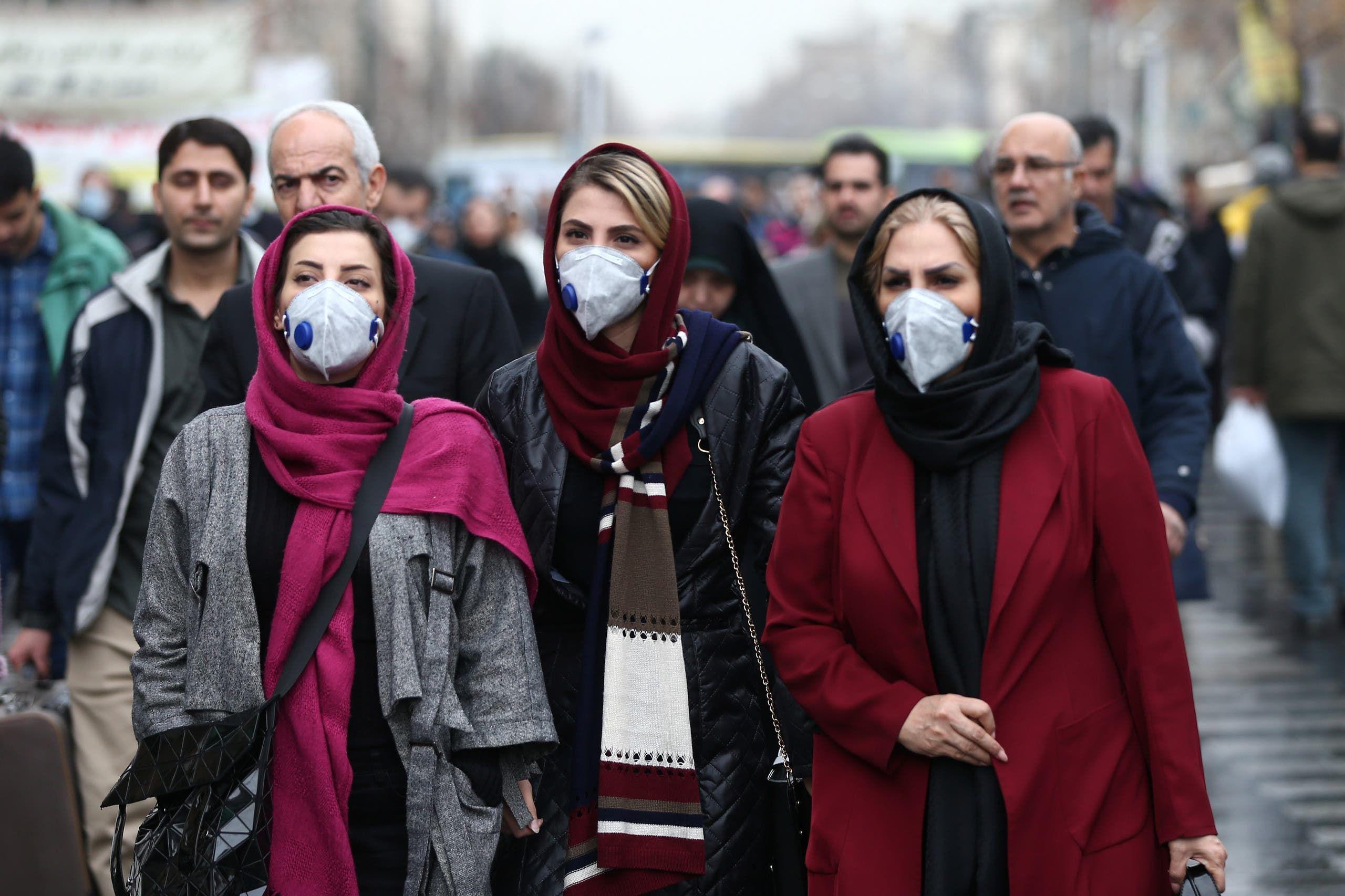 كورونا في إيران (رويترز)