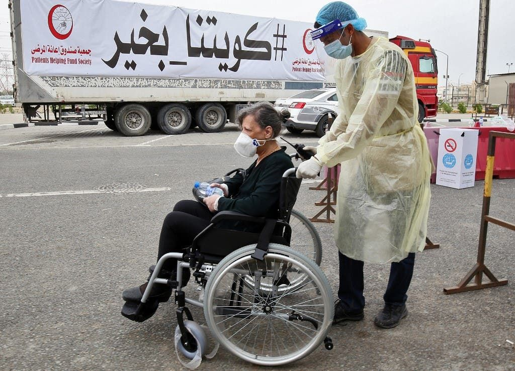 الكويت - كورونا - فرانس برس