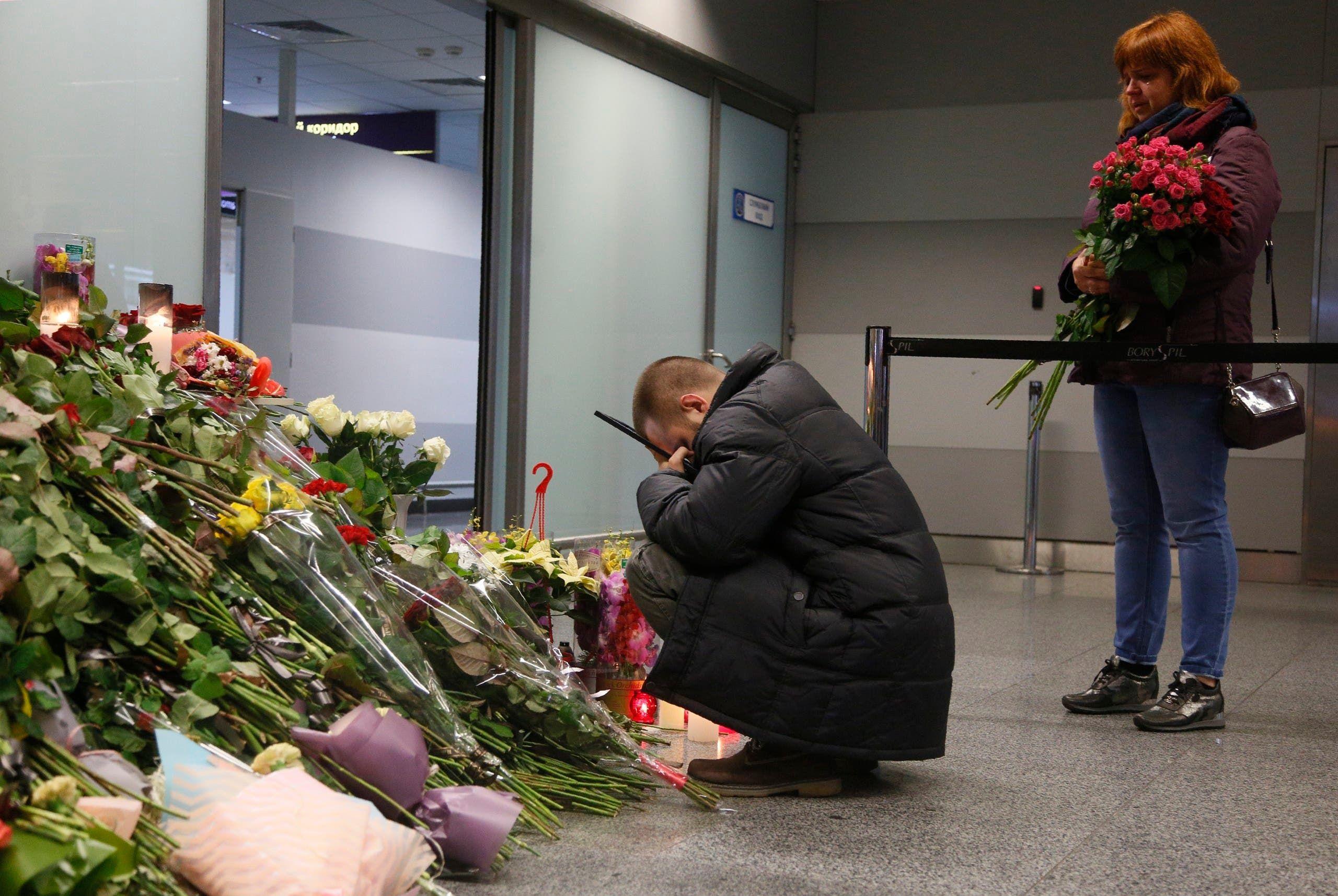 عائلات ضحايا الطائرة الأوكرانية