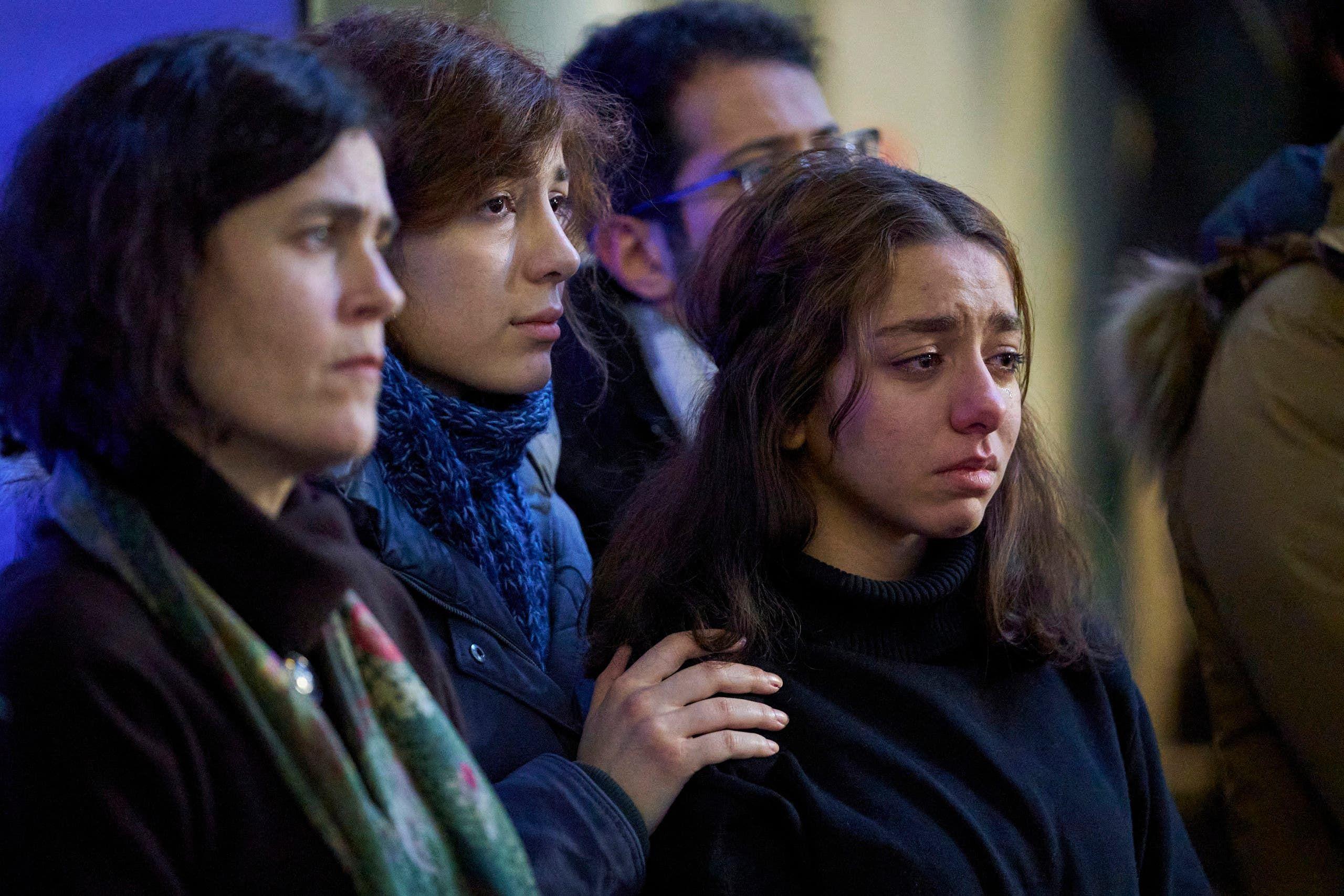 أهالي ضحايا الطائرة الأوكرانية