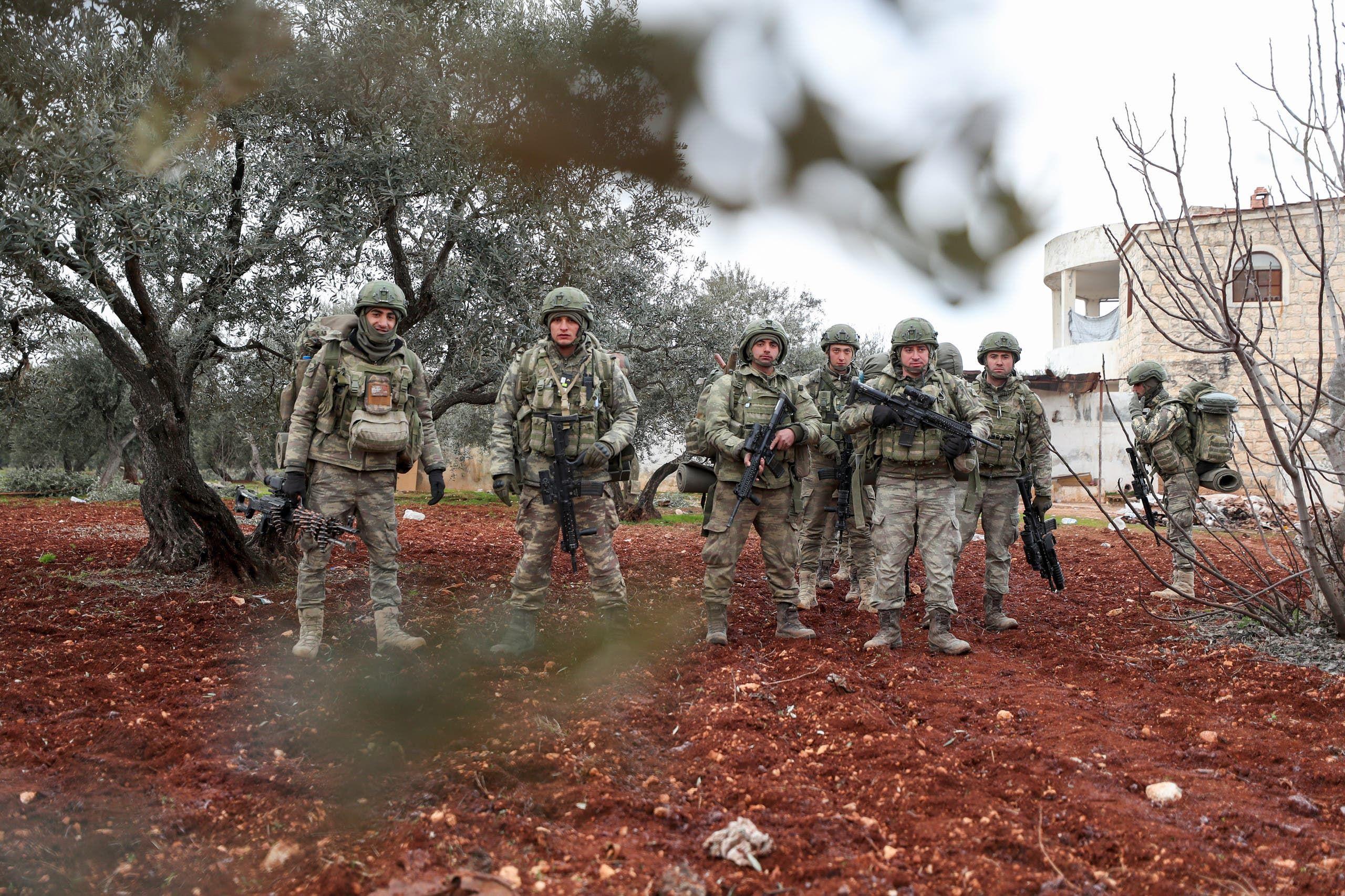 جنود أتراك في سوريا (فرانس برس)