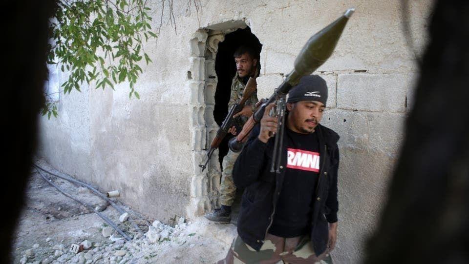 مرتزقة سوريون في ليبيا