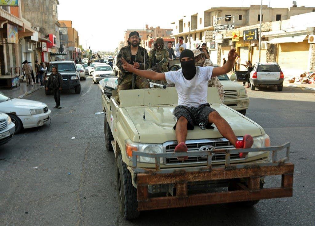 عناصر تقاتل إلى جانب ميليشيات الوفاق في ليبيا