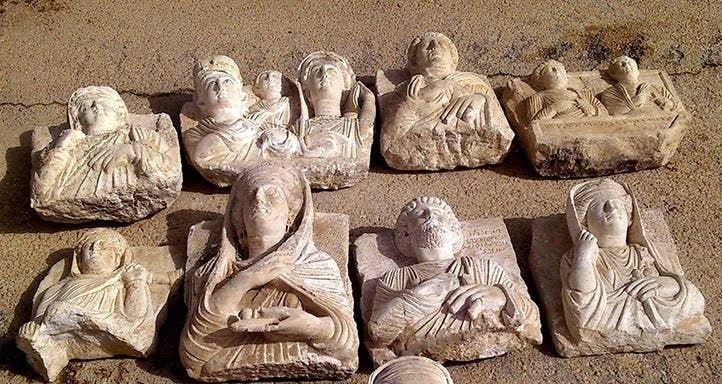 سوريا - آثار منهوبة