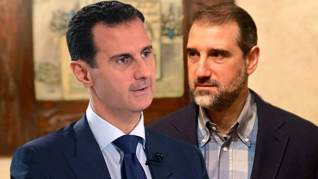 رامي مخلوف وبشار الأسد