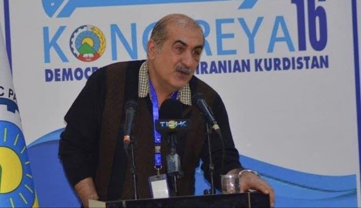 القيادي الكردي الايراني صادق زارزا