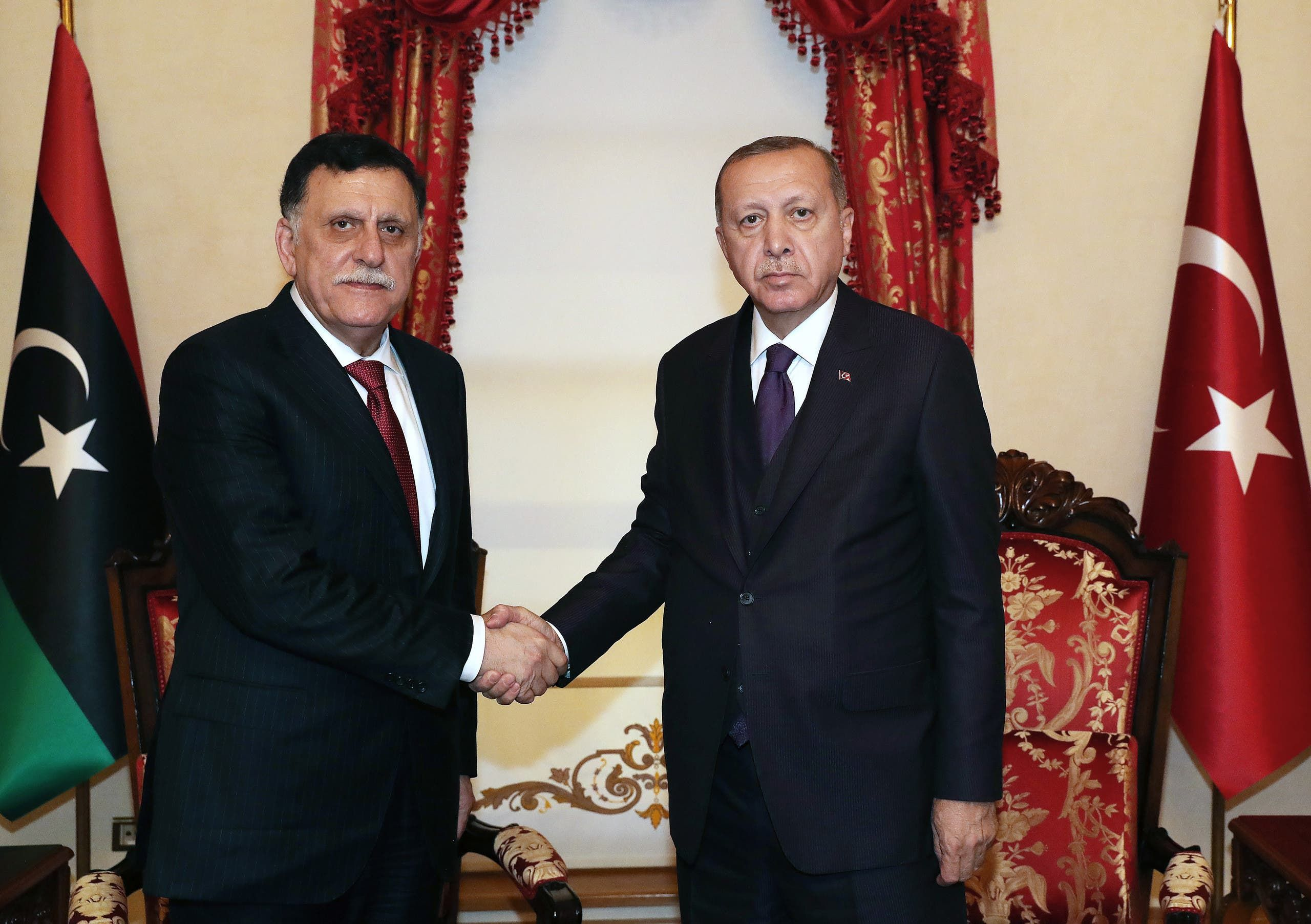 أردوغان والسراج (فرانس برس)