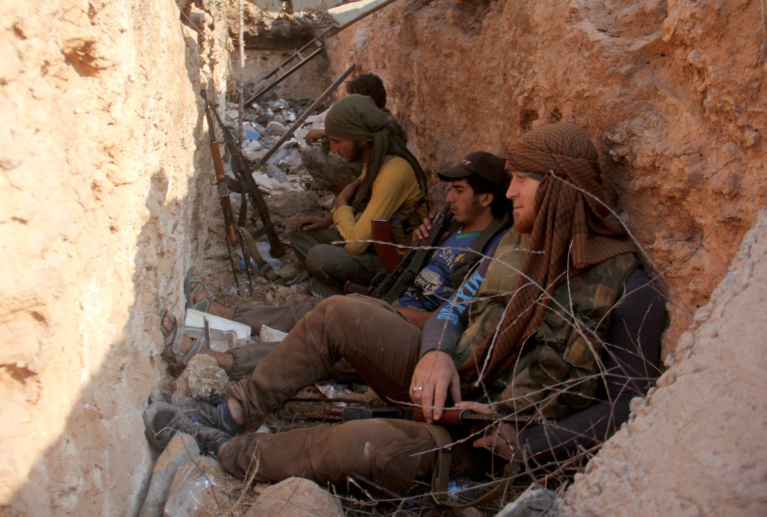 قوات من جبهة النصرة شمال سوريا (فرانس برس)
