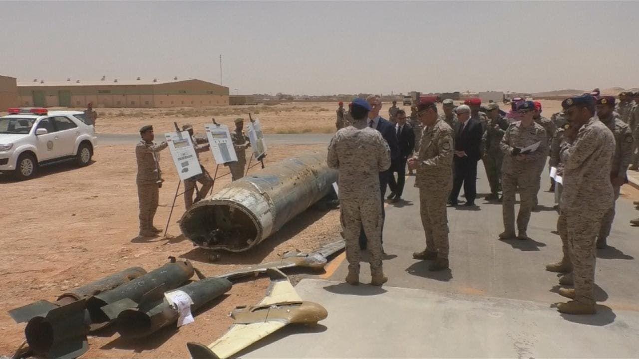 من الهجوم الإرهابي الذي استهدف مطار أبها