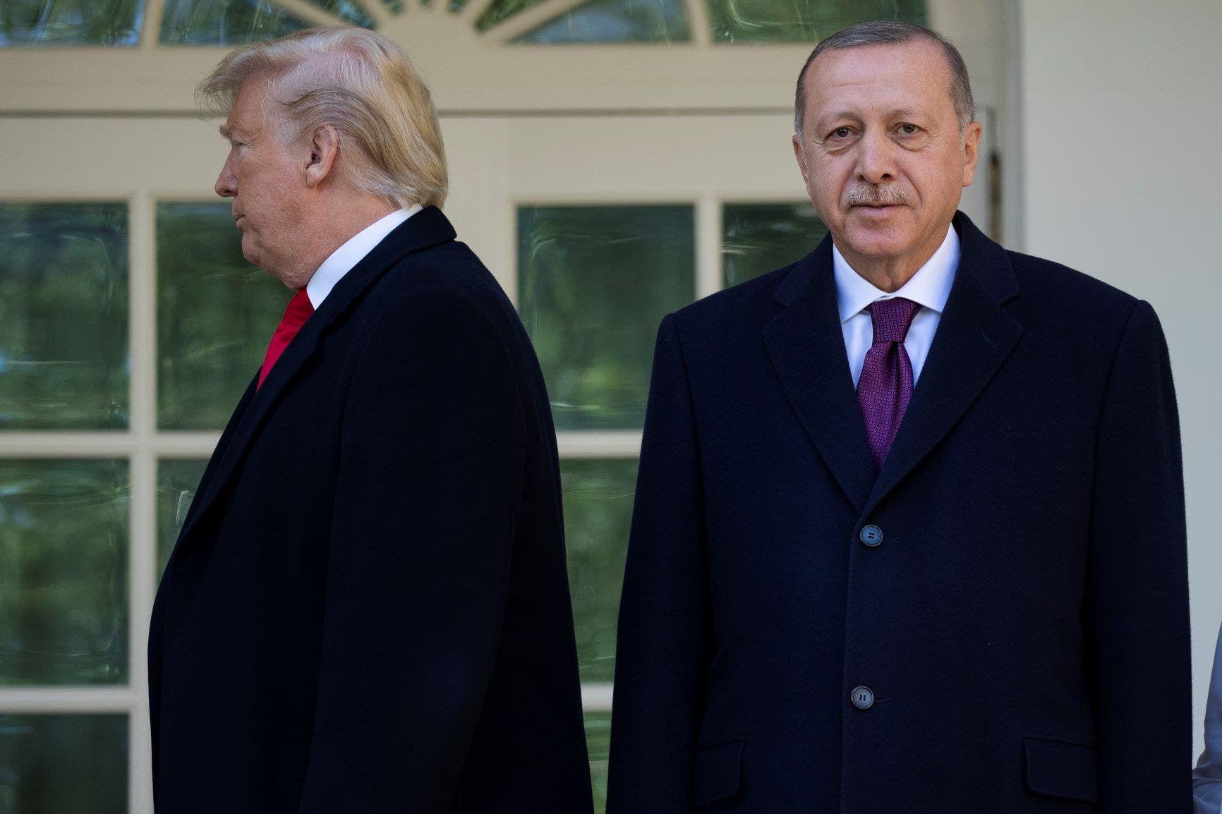 الرئيسان أردوغان وترمب