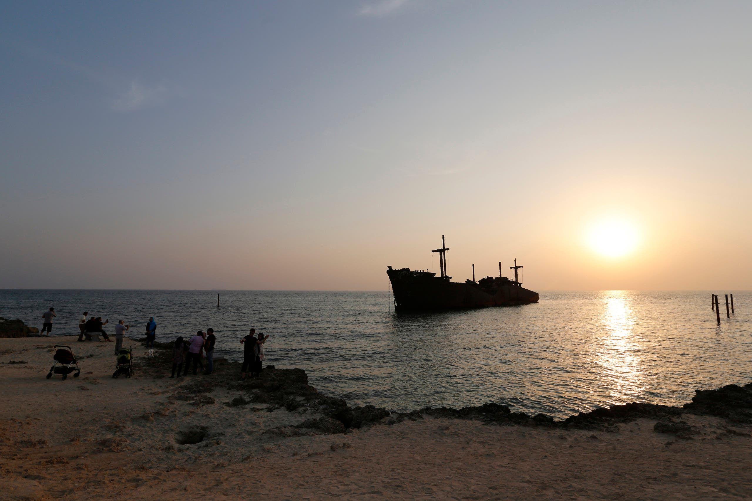 من جزيرة كيش في الخليج العربي