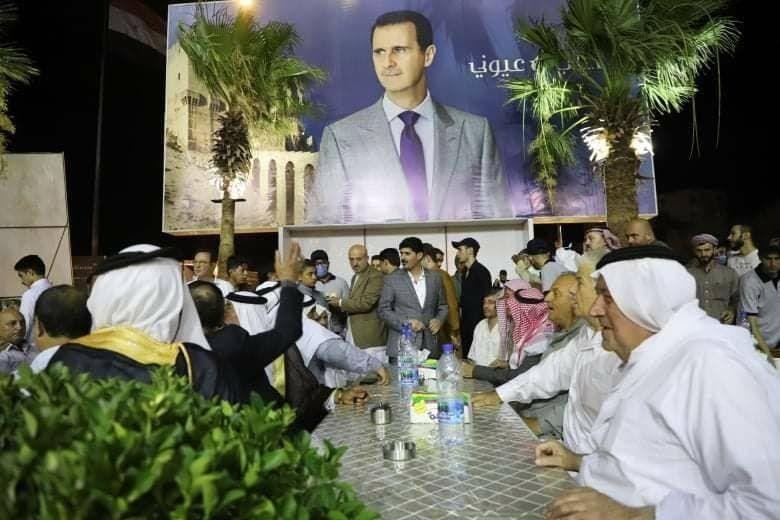 من تحضيرات حسام قاطرجي للتجديد لنفسه في برلمان النظام
