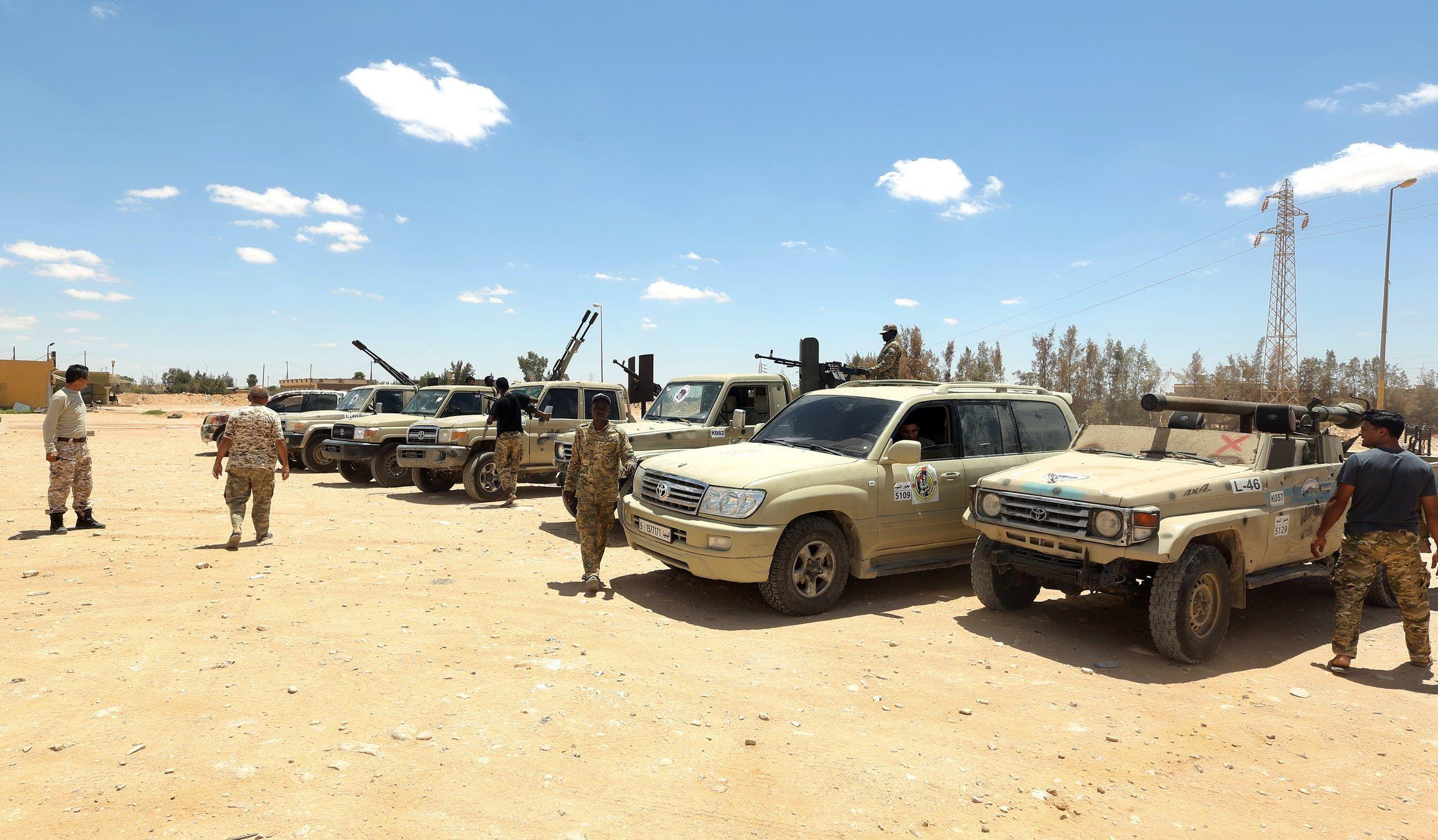قوات الوفاق في أبوقرين