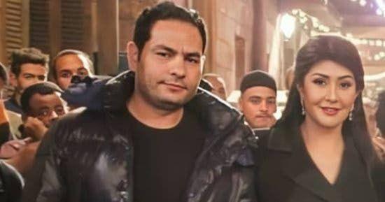 غادة عبدالرزاق وزوجها مدير التصوير هيثم زنيتا