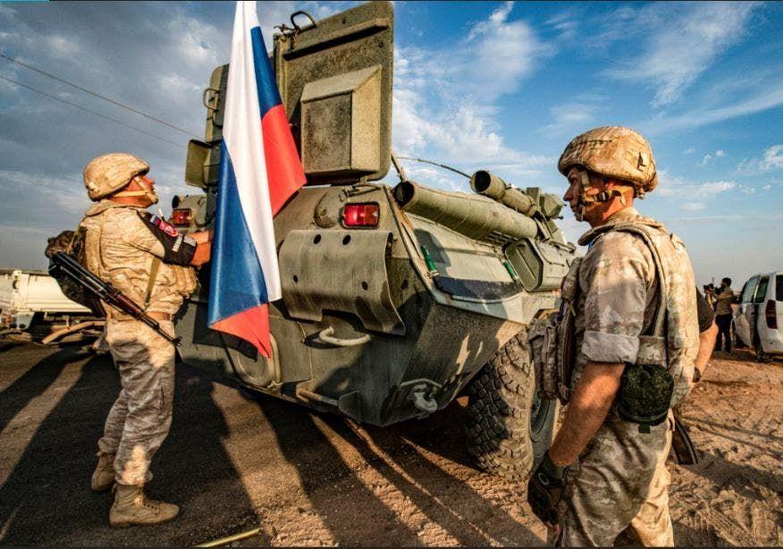 قوات من الشرطة العسكرية الروسية في سوريا