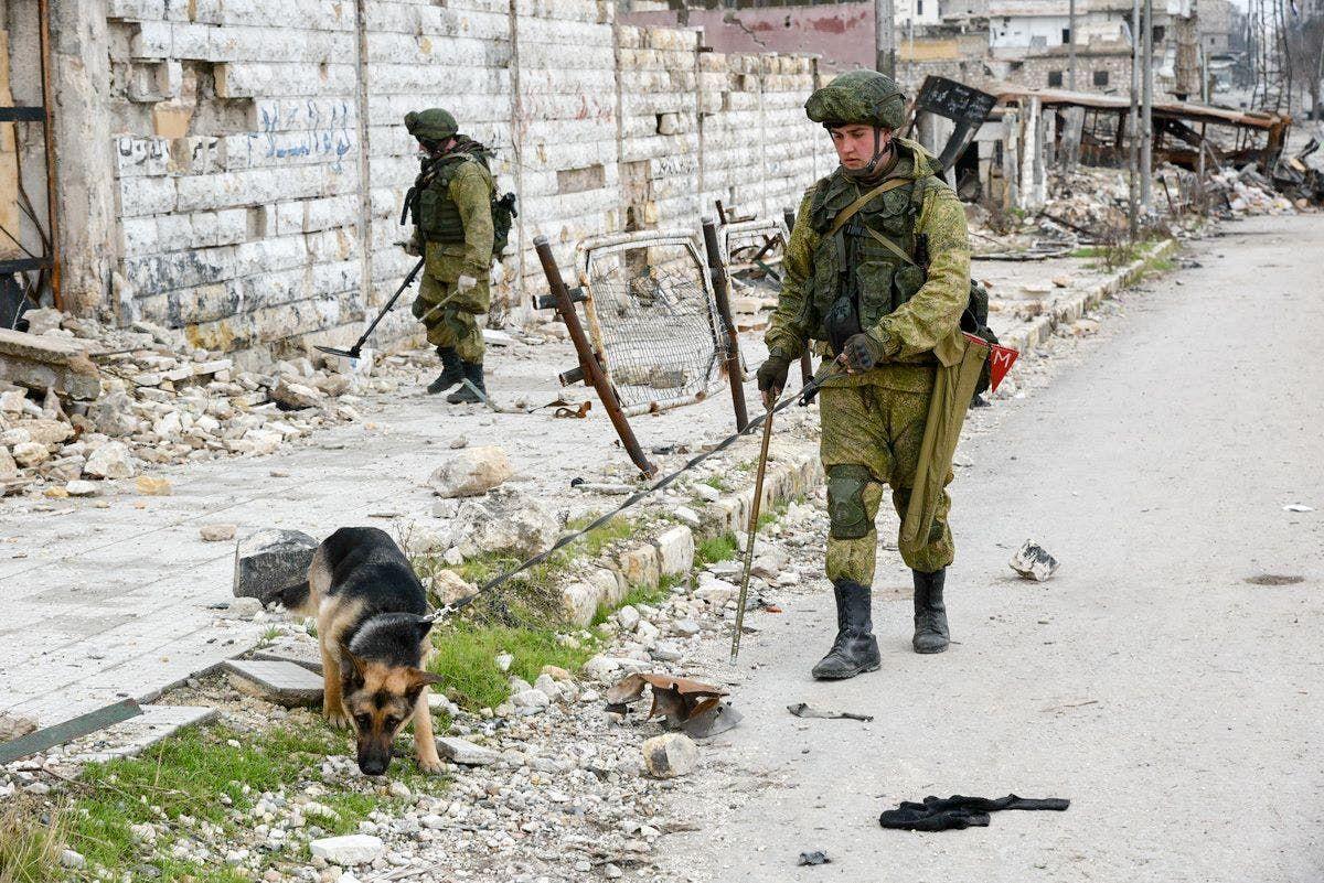 قوات روسية خاص في سوريا