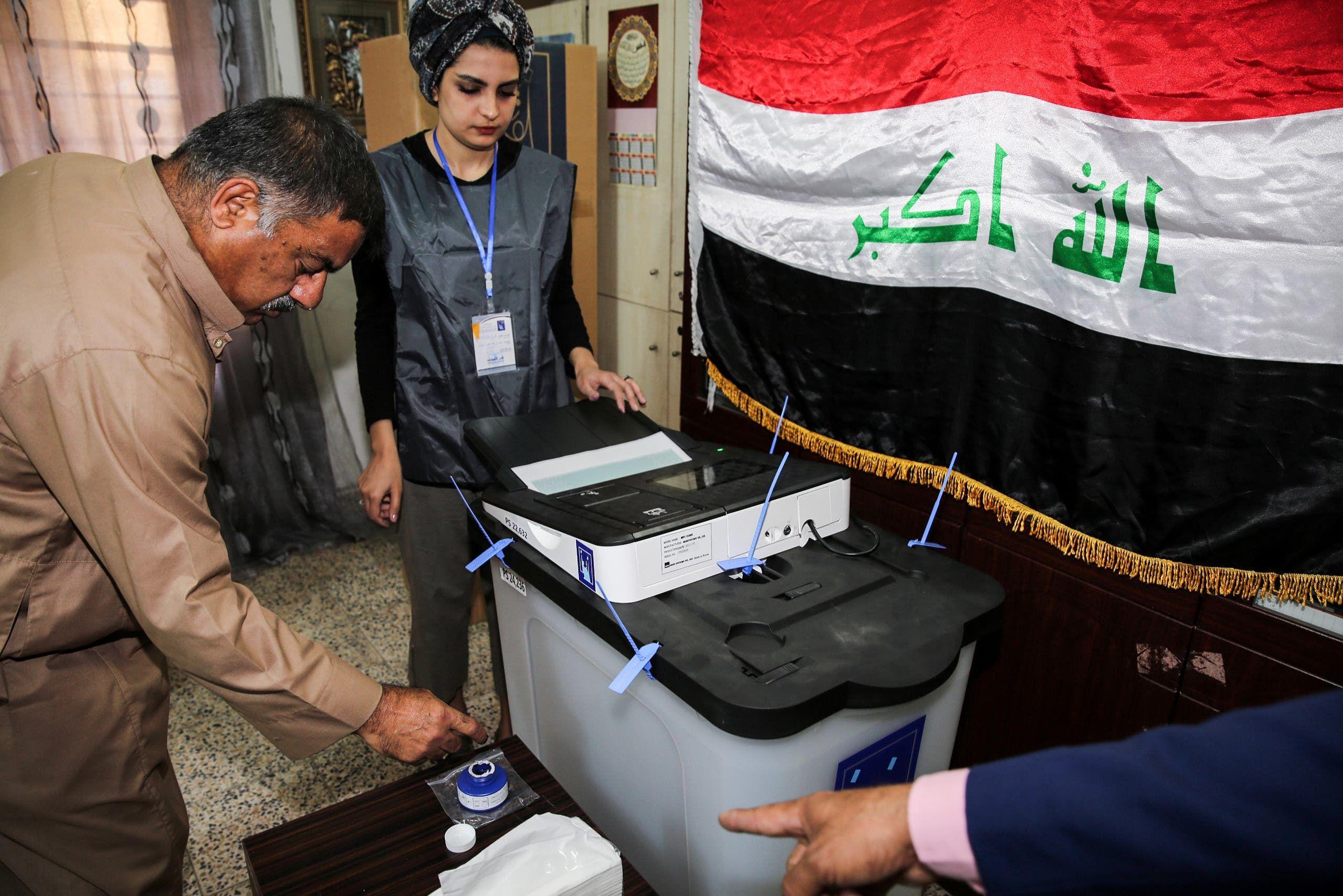 من الانتخابات النيابية السابقة في العراق في مايو/أيار 2018