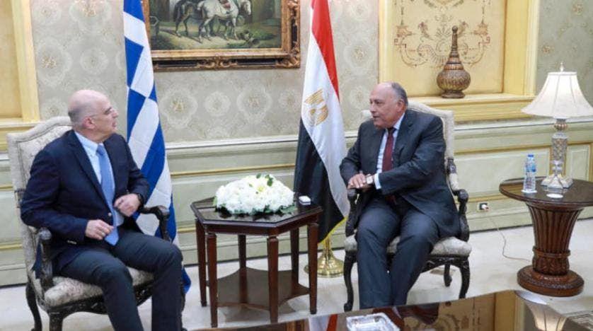 وزيرا خارجية مصر واليونان