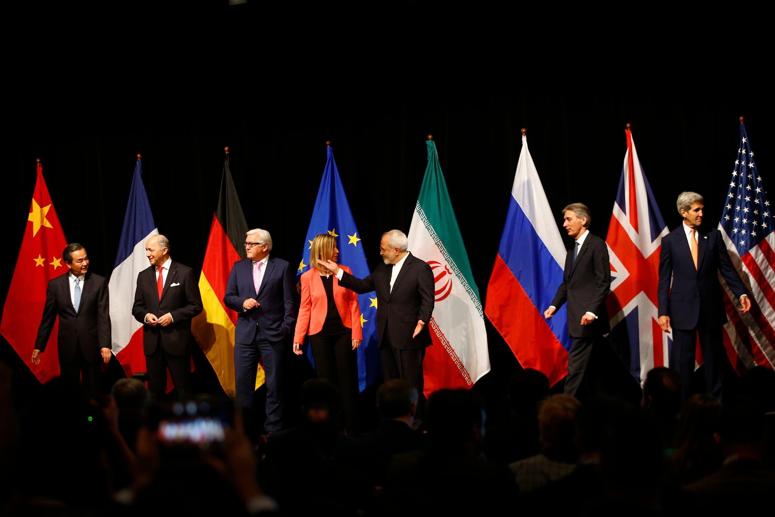 من التوقيع على الاتفاق النووي في 2015 في فيينا