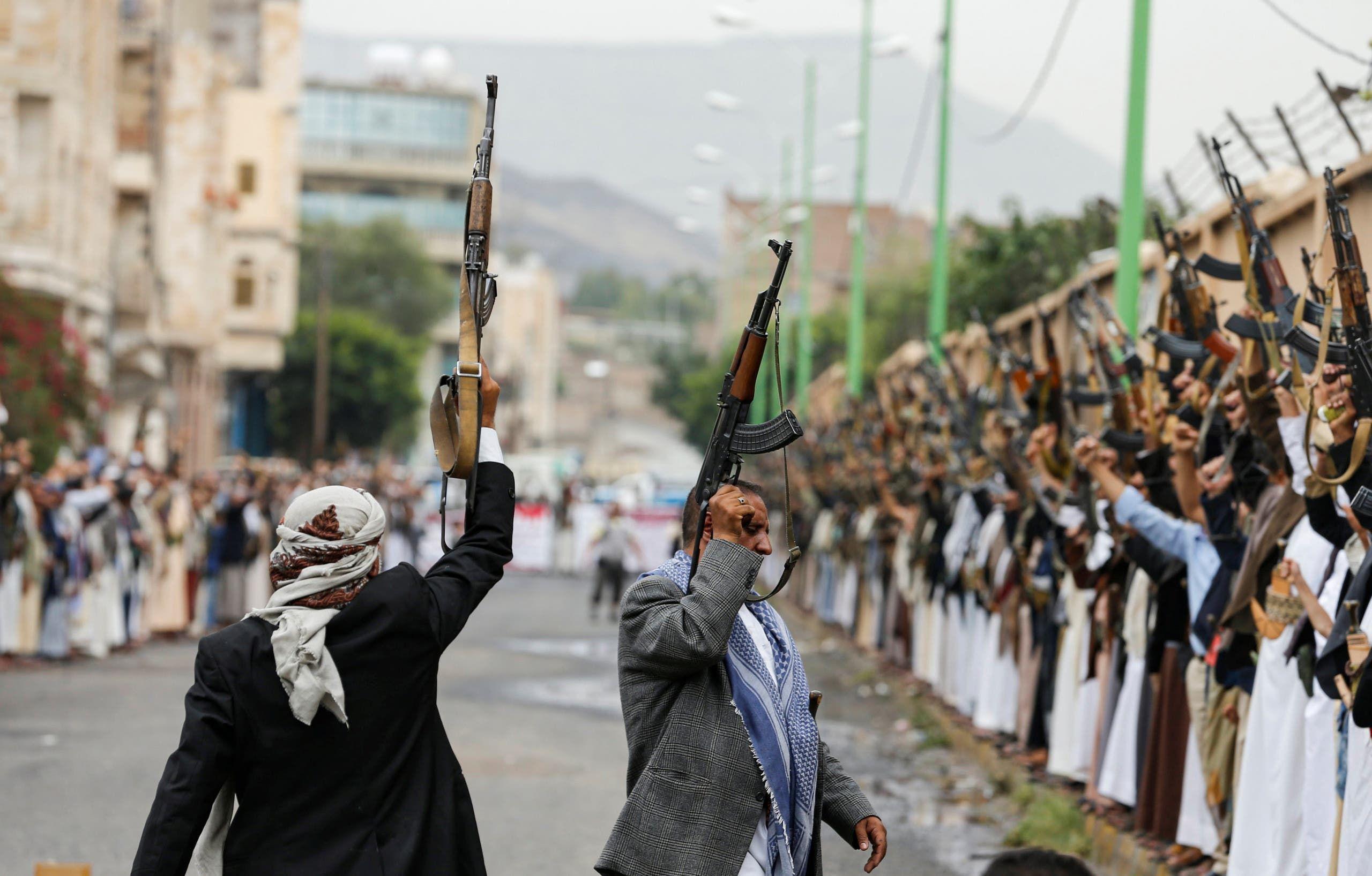 مسلحون حوثيون في صنعاء (أرشيفية)