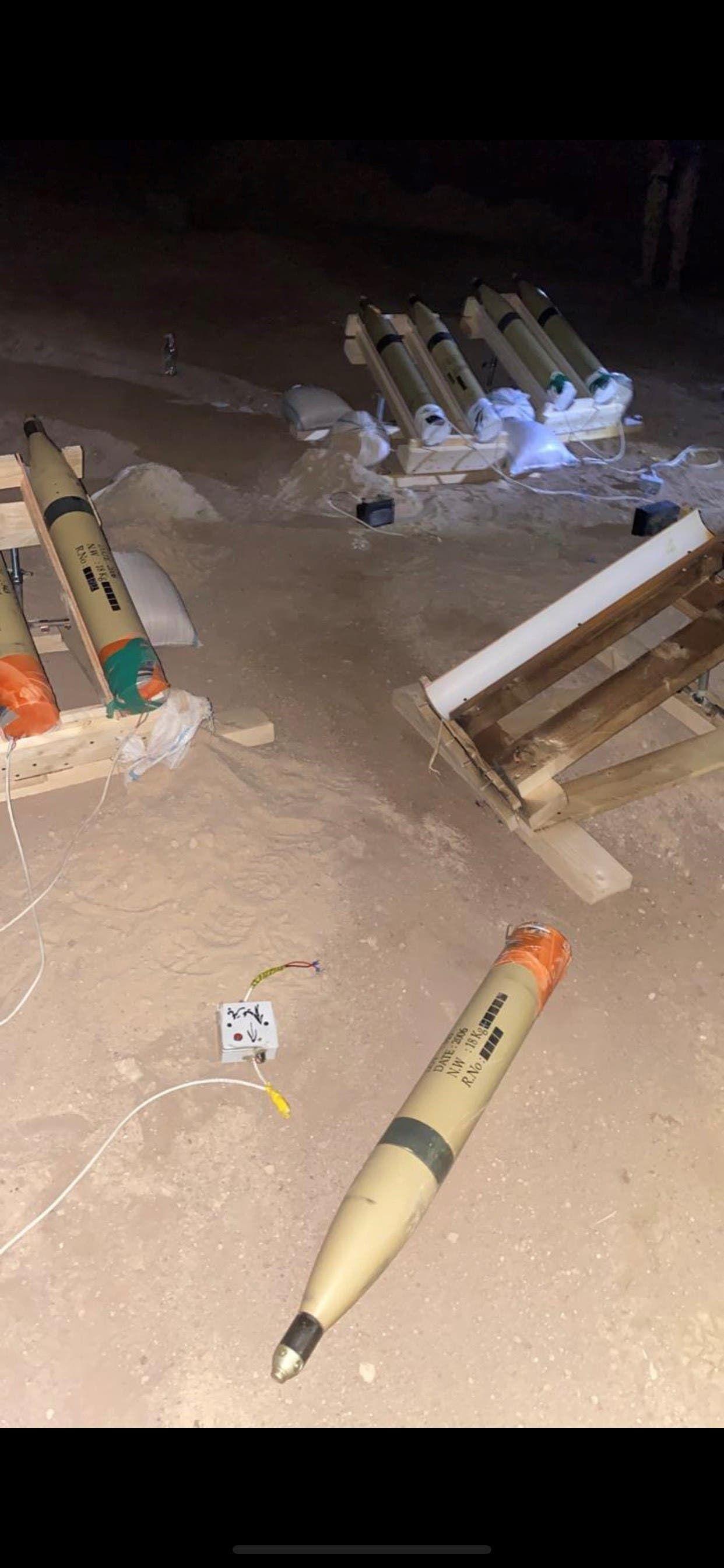 صواريخ كاتيوشا تم ضبطها وسط بغداد بعد استهداف المطار مطلع أغسطس