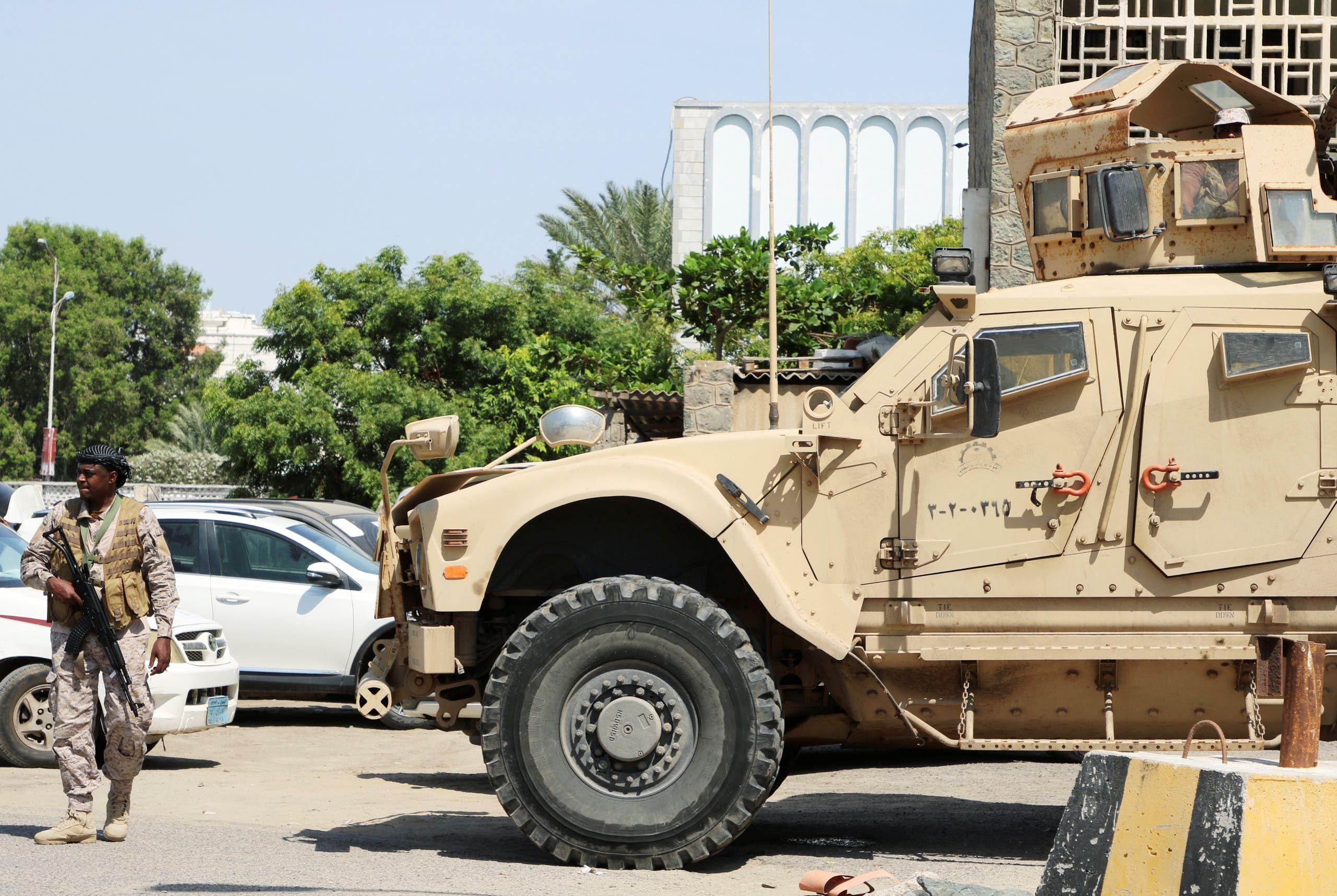 القوات السعودية في عدن (أرشيفية)