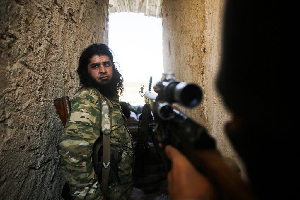 مقاتلون سوريون موالين لتركيا - فرانس برس