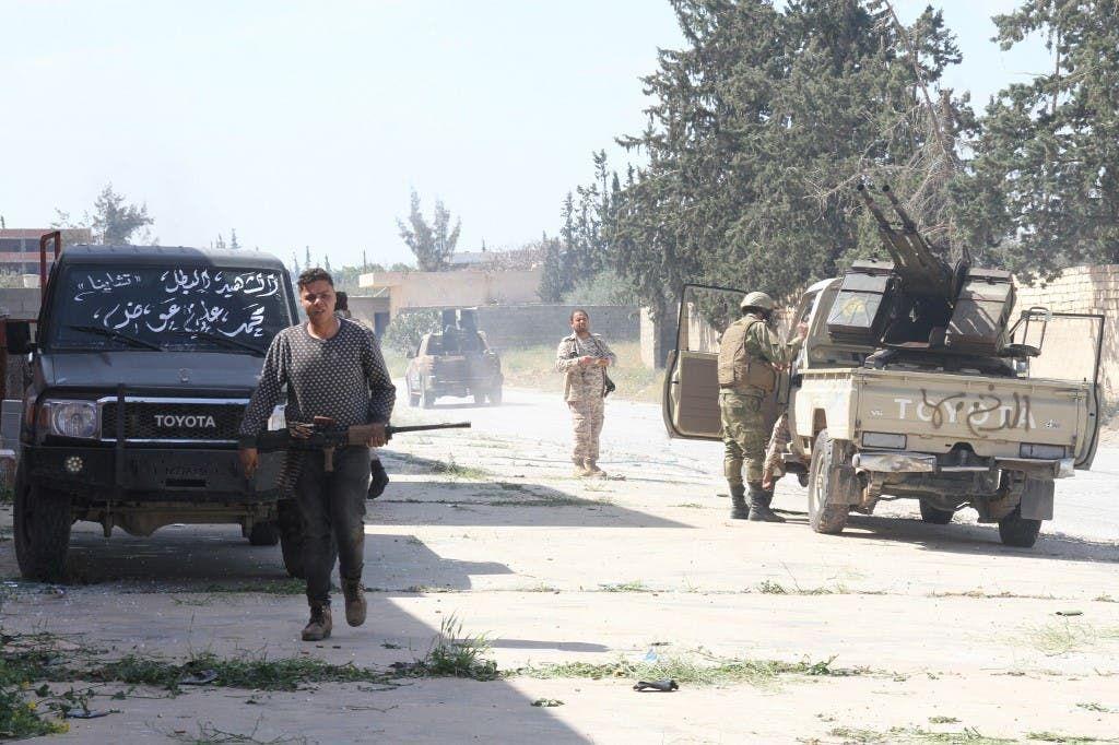 مقاتلون موالون لفصائل الوفاق