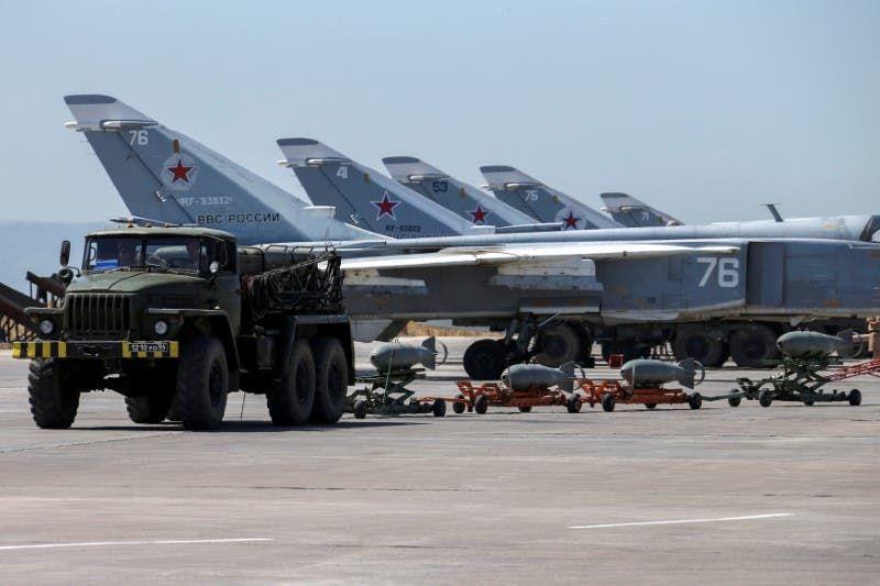 قوات روسية في حميميم