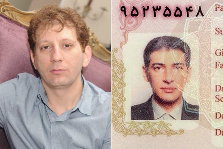 بابك زنجاني (يسار) و علي رضا زيبا حالت منفود