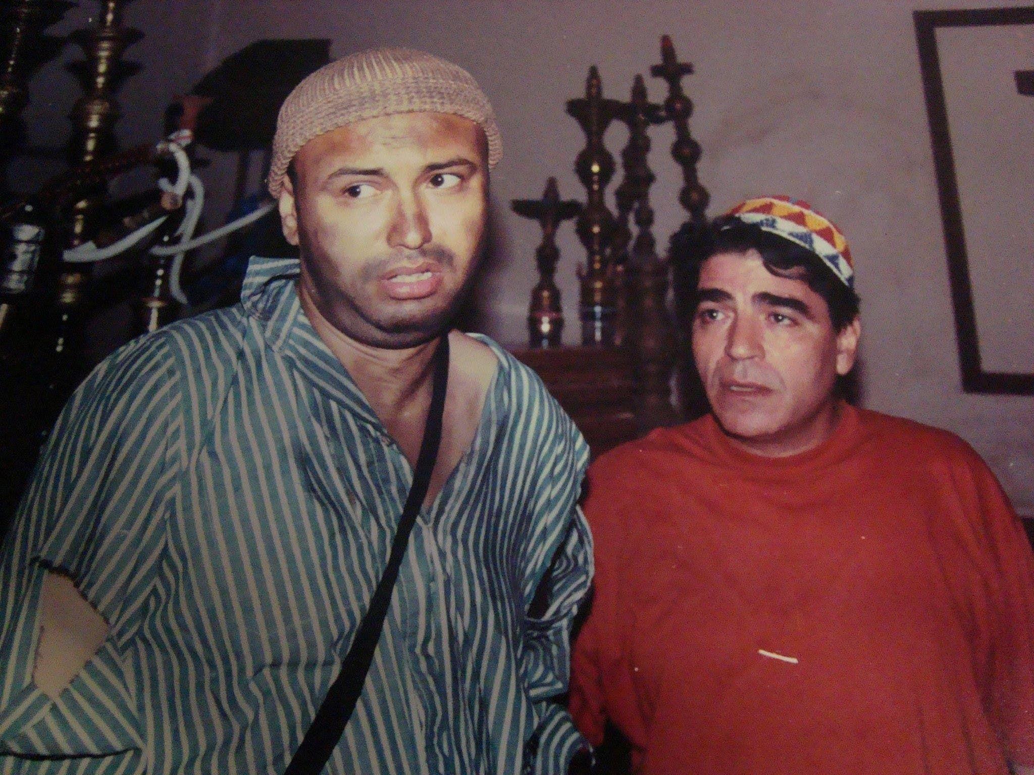 جمال يوسف مع محمود الجندي