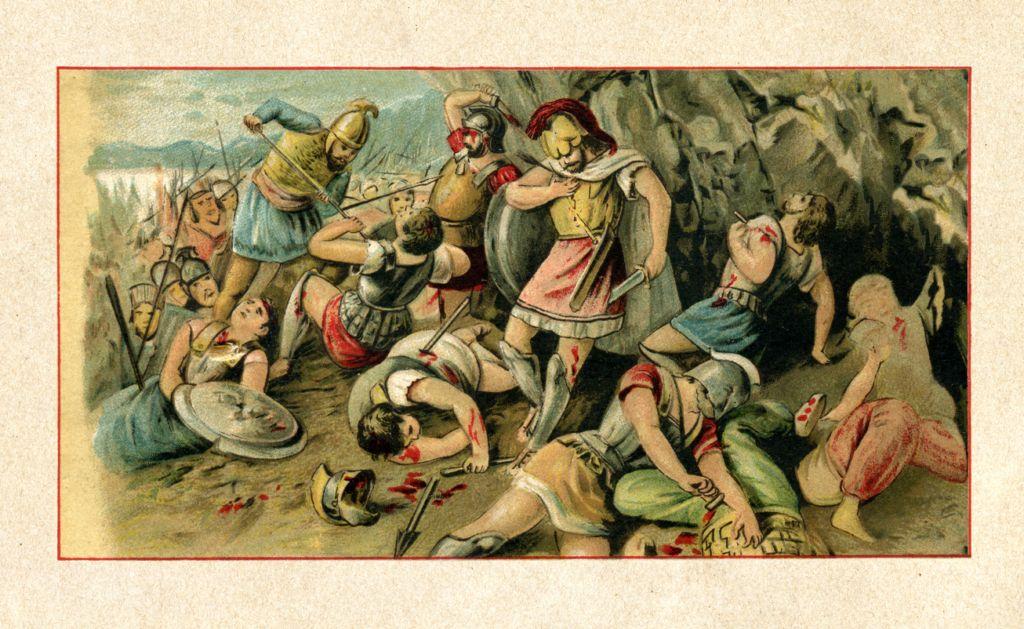 محاربو أسبرطة
