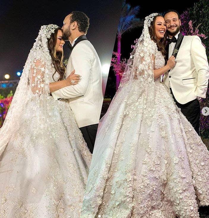 زفاف هنادي مهنا وأحمد خالد صالح